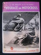 Alkenreeks Book Wegrace en Motocross, de Kruyff / Klomps (Nederlands)