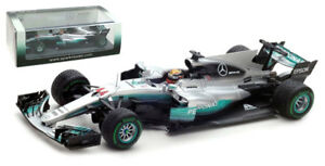 Spark-S5030-Mercedes-W08-China-2017-World-Champion-Lewis-Hamilton-1-43-Scale