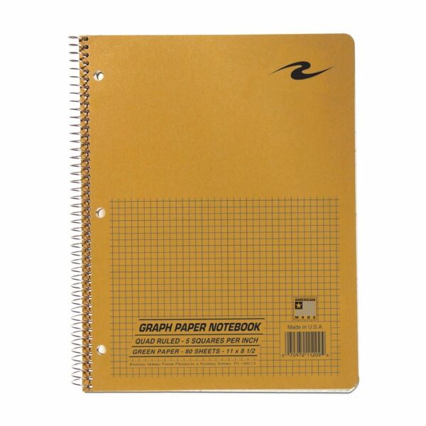 roaring spring graph notebook one subject 11 x 8 5 inches
