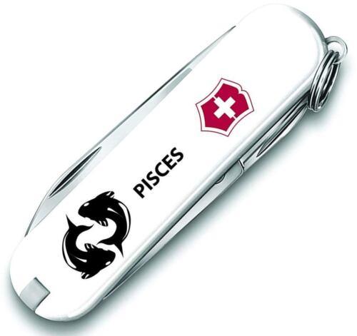 "Victorinox Swiss Army 2.3/"" Edición Limitada Clásico SD Zodiaco Piscis 55085.GEM"