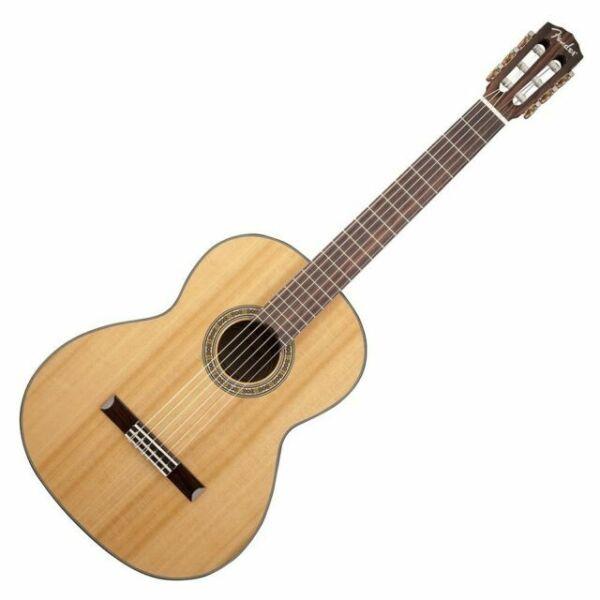 Fender Cn 140s Solid Top Classical Acoustic Guitar V2 For Sale Online Ebay