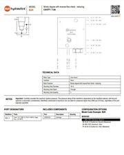 Sun Hydraulics Manifold B2k