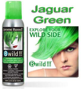 Jerome Russell B Wild Hair Color Spray Jaguar Green 3 5oz Ebay