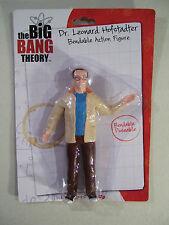 NEW THE BIG BANG THEORY DR. LEONARD HOFSTADTER BENDABLE RUBBER FIGURE 2013