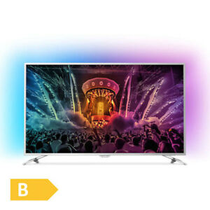 Philips-123cm-49-Zoll-Ultra-HD-4K-LED-Fernseher-3-fach-Ambilight-Android-DVB-T2