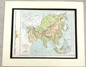 Map Of Asia Far East.Details About 1899 Antique Map Of Asia The Far East Japan China 19th Century Original