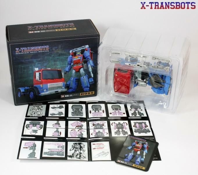 NEW X-TRANSBOTS Transformers Master Mini Series MM-III Hoss GoBots Road Range