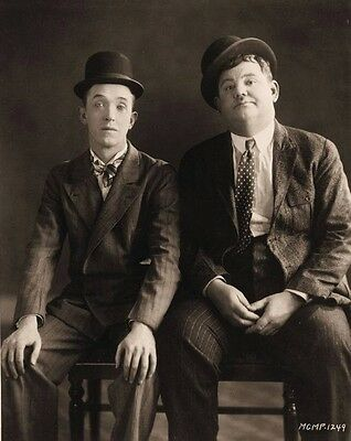 Oliver Hardy and Stan Laurel from the 1920's.