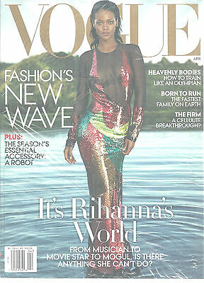 Rihanna Vogue Magazine April 2016 Heavenly Bodies New Wave Fashion