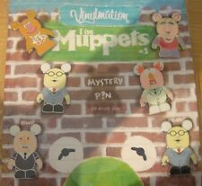 Disney Vinylmation Collectors Set # 1- Muppets 7 Pin Set - New on Card + Sealed