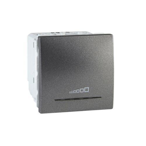 20..350VA variateur poussoir universel graphite MGU3.515.12 Unica 2 mod