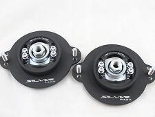 Camber Plates Golf MK1 -black mat 3D Uniball verstellbare einstellbare Domlager