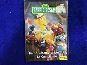BARRIO-SESAMO-DVD-NUEVO-NEW-LA-CENICIENTA-PRECINTADO
