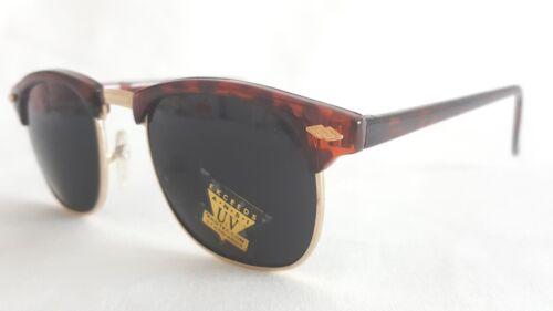 Original Vintage Brille 80er Jahre Alterspuren schwarz leo dunkel 306