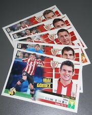 UN LOTE DE 5 CROMOS  LIGA BBVA 2013/14 -PANINI ATHLETIC CLUB
