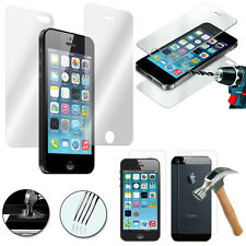 Lot 3 Filme Sicherheitsglas vorne und hinten für Apple iPhone 5C