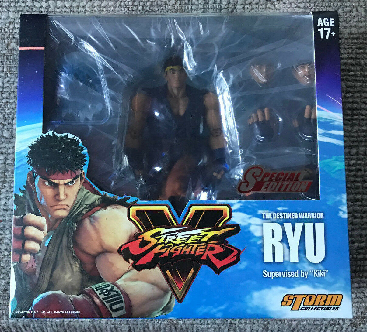 STORM COLLECTIBLES STREET FIGHTER V RYU SPECIAL EDITION 1 12 NEW SEALED