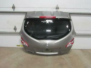 11-14-NISSAN-MURANO-Lid-Trunk-Tail-Hatch-Gate-4-Door-Gray-Grey-Glass-Rear-OEM