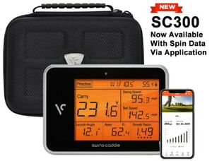 New-Voice-Caddie-SC300-Portable-Launch-Monitor-Includes-Protective-Carry-Case