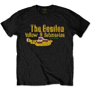The-Beatles-Yellow-Submarine-Official-Merchandise-T-Shirt-M-L-XL-Neu