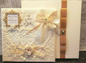 Wedding Day Mummy /& Daddy Card Large 8x8 inch Size Personalised