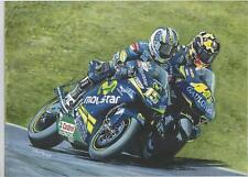 Rossi and Gibernau, Jerez 2005, art print