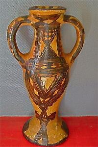 Antike Volkskunst Sehr Groß Vase Ideqqi Oder TÖpferei Berber Antik,kabylie Volkskunst