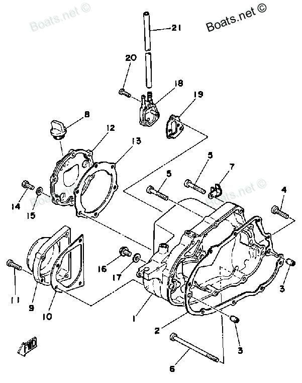 Yamaha Tri Moto 125 Parts
