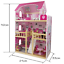 3-Storey-Large-Mansion-Kids-Girl-Wooden-Doll-House-Pink-Dollhouse-Furniture-16pc thumbnail 6