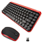 Wireless-Keyboard-and-Mouse-Modern-Retro-i-Star-UK-Layout-Compact-Bluetooth thumbnail 1