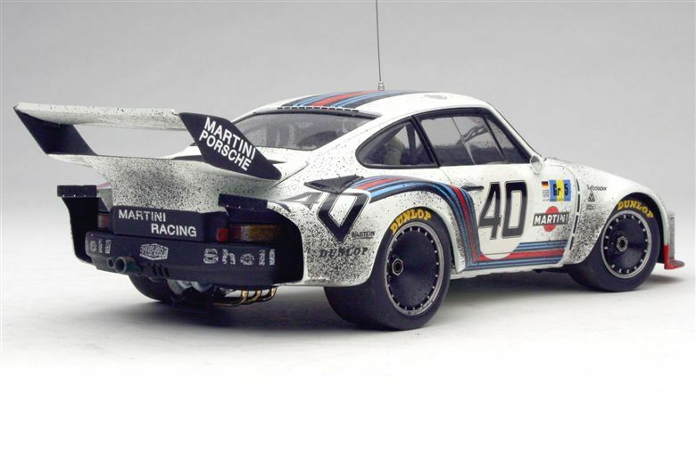 EXOTO  1 18 RLG18105SFL PORSCHE 935  TURBO Finish Line Group 5 Winner Le Mans  magasin d'offre