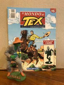 """IL MONDO DI TEX  """"L/' ALIENO/""""  Statua figure 18 cm MINT IN BLISTER Hachette"""