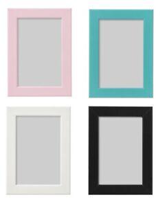 Détails Sur Ikea Cadre Photo Blanc Rose Bleu Noir 10x15 13x18 21x30 Neuf Afficher Le Titre D Origine