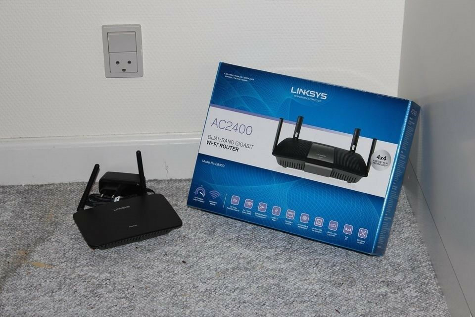 Router, Linksys, God
