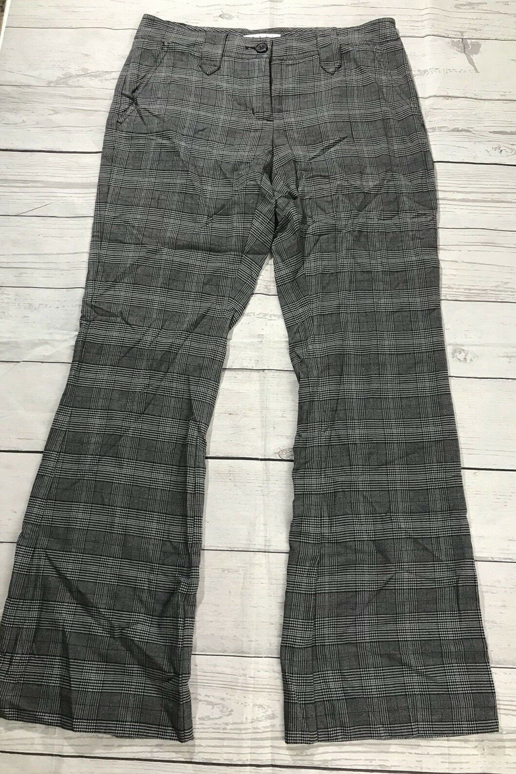 Cabi 922 Counsel Women's Pants Size 6 Regular color Glenplaid New