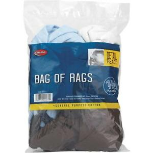 Carrand 1/2Lb Bag Cleaning Rags