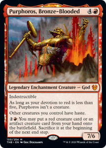 Purphoros-Bronze-Blooded-Foil-x4-Magic-the-Gathering-4x-Theros-Beyond-Death-m