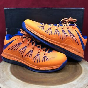 new styles 66c4a 87220 Image is loading Nike-Air-Max-Lebron-10-Low-Bright-Citrus-