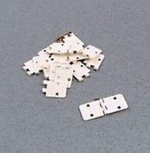 Logic-RC-F-RCA143-10-x-11mmx14mm-Folded-Flat-Metal-Pin-Nylon-Hinges-1st-Post