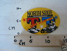 STICKER,DECAL DUTCH TT ASSEN 1981 NORTH STATE MOTO GP, NOT 100 % OK