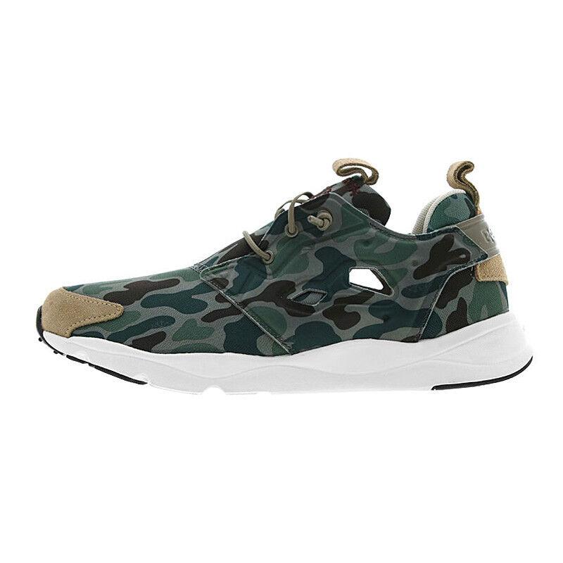 Reebok Furylite Camo Trainers Shoes Men's Women's Camouflage NEW