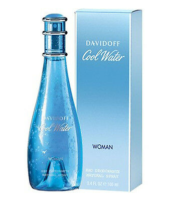 Davidoff Cool water 100 ML Women EDT Perfume