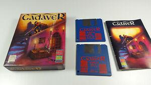 CADAVER-Commodore-Amiga-Spiel-Big-Box-OVP-VGC-CIB-Vintage-Game-Collectible