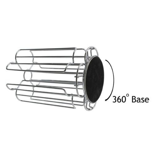Renouvelable Café Pod Support Tassimo Nespresso Dolce Gusto capsule Holder Chrome