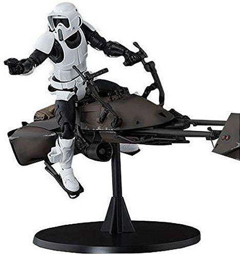 Kb10 S.H.Figuarts Star Wars SCOUT TROOPER & SPEEDER BIKE Action Figure BANDAI