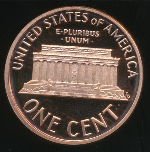 Lincoln Memorial 1c 2008-S One Cent Proof United States