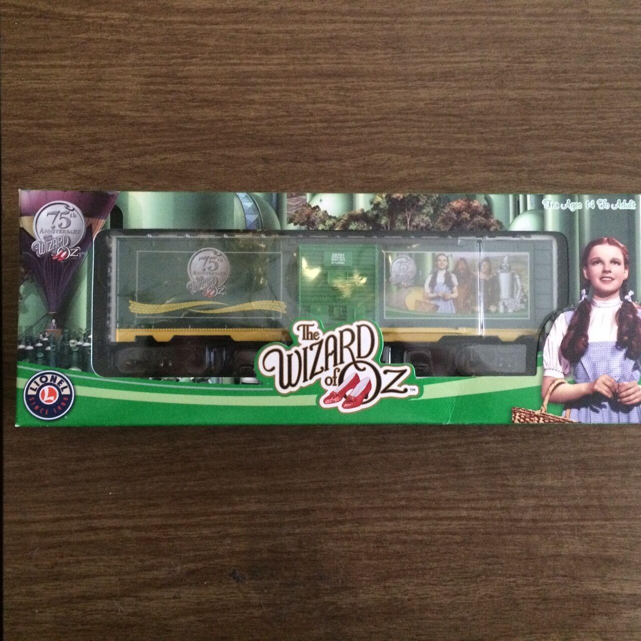 Lionel 29791 Wizard of OZ 75th Anniversary Box Car New in Box