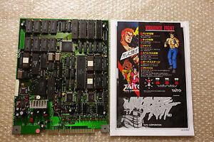 """La violence Fight """"TAITO 1989"""" jamma Carte de circuit imprimé jeu d'arcade Japan"""