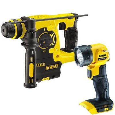 DeWalt DCH253N 18V XR Li-Ion SDS Plus Hammer Drill With DCS391N Circular Saw