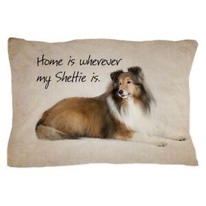 "CafePress Sheltie Standard Size Pillow Case 20/""x30/"" 1079381445"